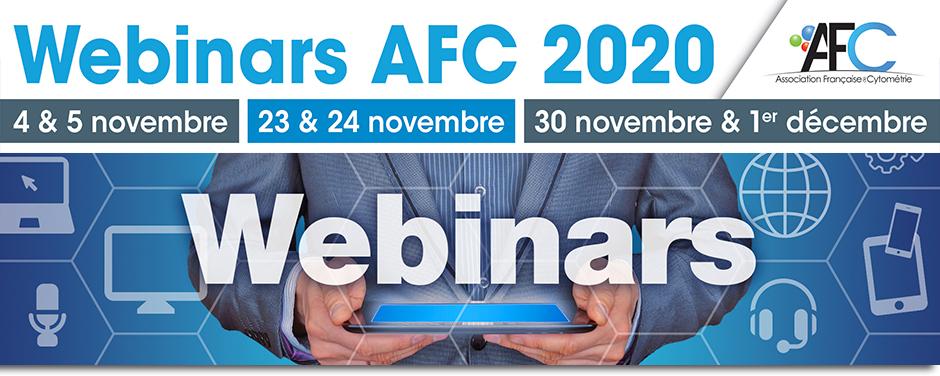 Bandeau - Webinars AFC 2020