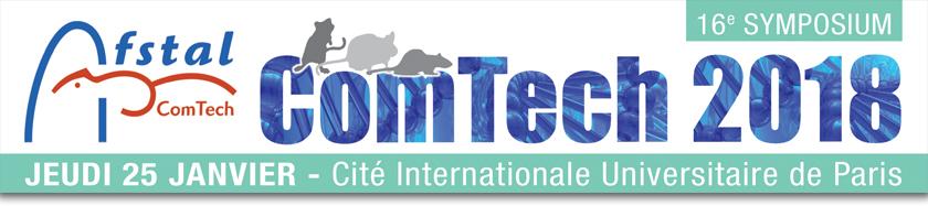 Bandeau du symposium ComTech 2018