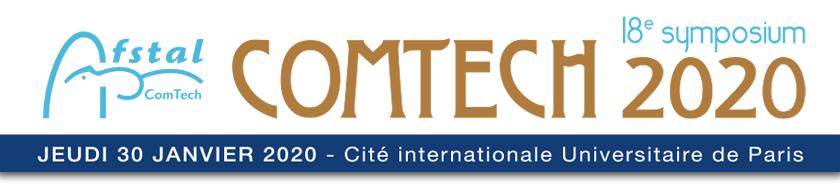 Bandeau du symposium ComTech 2020