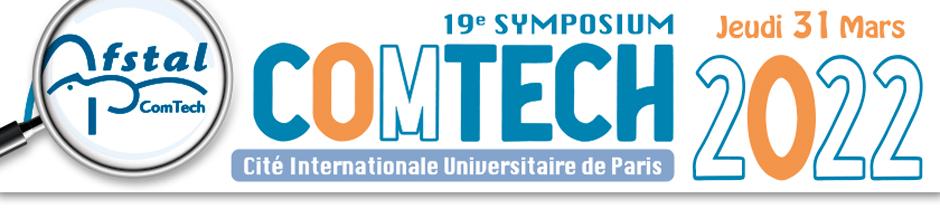 Bandeau du symposium ComTech 2021