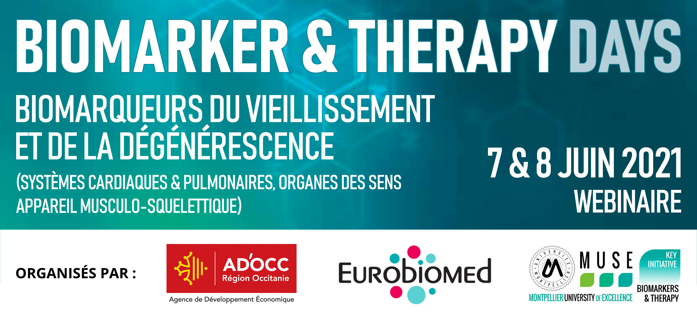 Bandeau - Biomarker & Therapy Days 2021